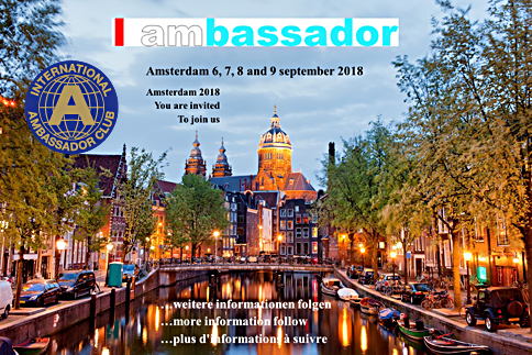 Delegates meeting Amsterdam September 2018